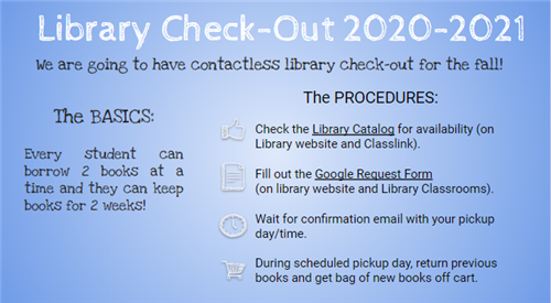 Library Check-out 2020