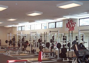 Carmel High School Gymnasium Weight Room