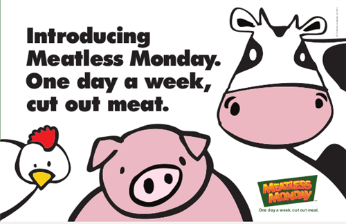 Meatless Monday graphic