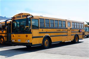 Photo of a CUSD Schools Bus