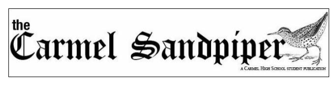 Student Newspaper: The Sandpiper