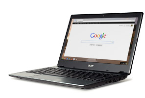 Image of Acer Chromebook computer